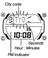 How to set time on Casio SGW-450 / 5450