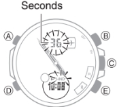 How to set time on Casio Edifice ECB-500 / 5427