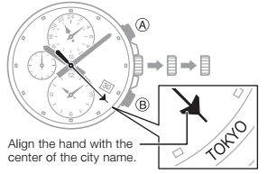 How to set time on Casio Edifice EFB-301 / 5335