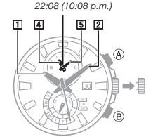 How to set time on Casio Edifice EFR-550 / 5406