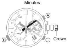 How to set time on Casio Edifice EQB-600 / 5466