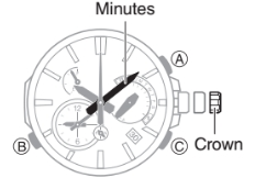 How to set time on Casio Edifice EQB-700 / 5467