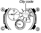 How to set time on Casio Edifice ERA-500 / 5446
