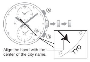 How to set time on Casio Edifice ETD-300 / 5495