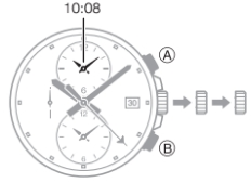 How to set time on Casio Edifice ETD-310 / 5498