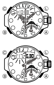 How to set time on Casio G-Shock GWN-Q1000 / 5477