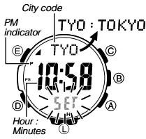 How to set time on Casio ProTrek PRW-3500 / 3414