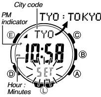 How to set time on Casio ProTrek PRW-S3100 / 3444