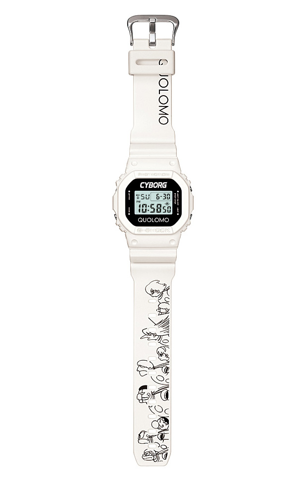 DW-5600 — G-Shock and Cyborg 009 x Quolomo Collaboration