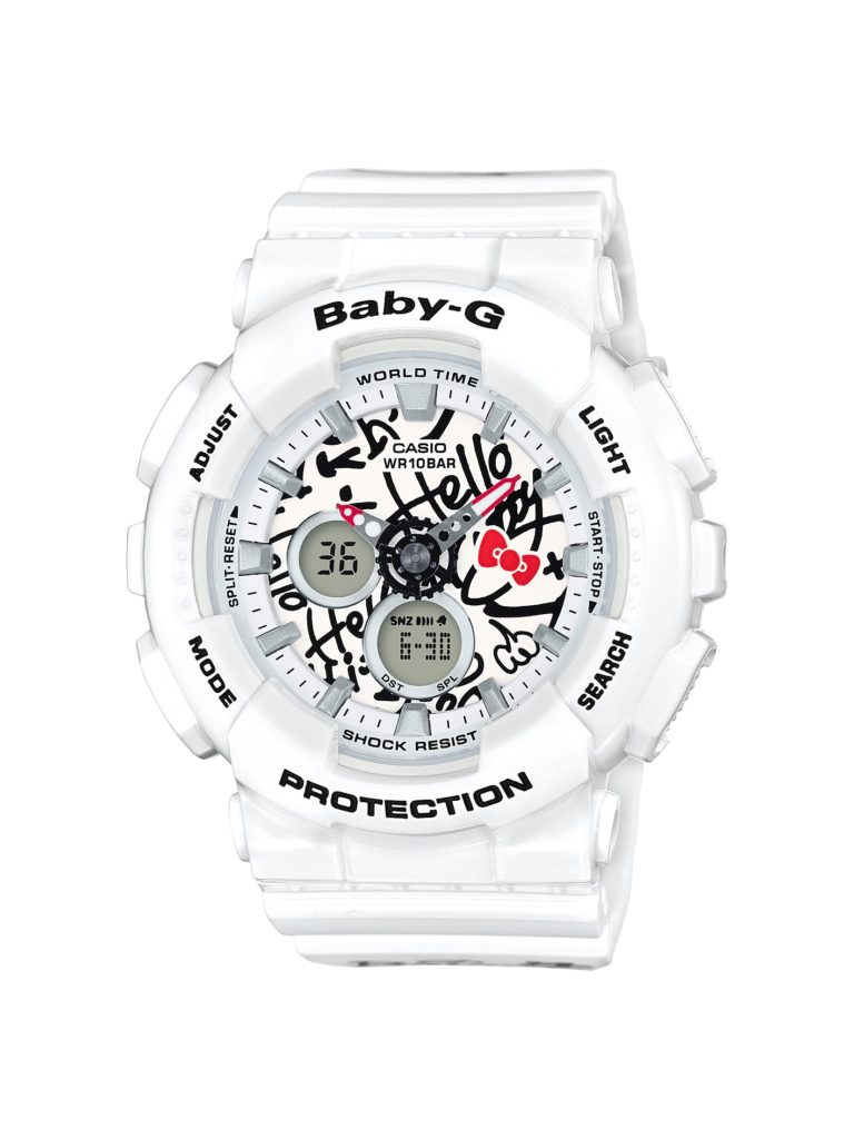 Baby-G BA-120KT Hello Kitty Collaboration Released