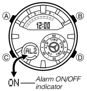 How to set alarm on Casio Edifice ERA-600 / 5499