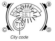 How to set time on Casio Edifice ERA-600 / 5499