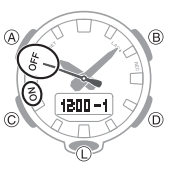 How to set alarm on Casio G-Shock GA-800 / 5535