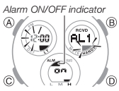 How to set alarm on Casio G-Shock GST-W120 / 5515