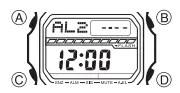 How to set alarm on Casio G-Shock GLS-5600 / 3178