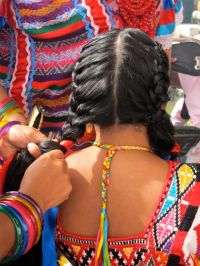 braiding | View From Casita Colibr