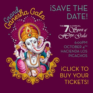 ¡Save the date! Grand Ganesha Gala