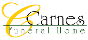 carnes funeral home logo