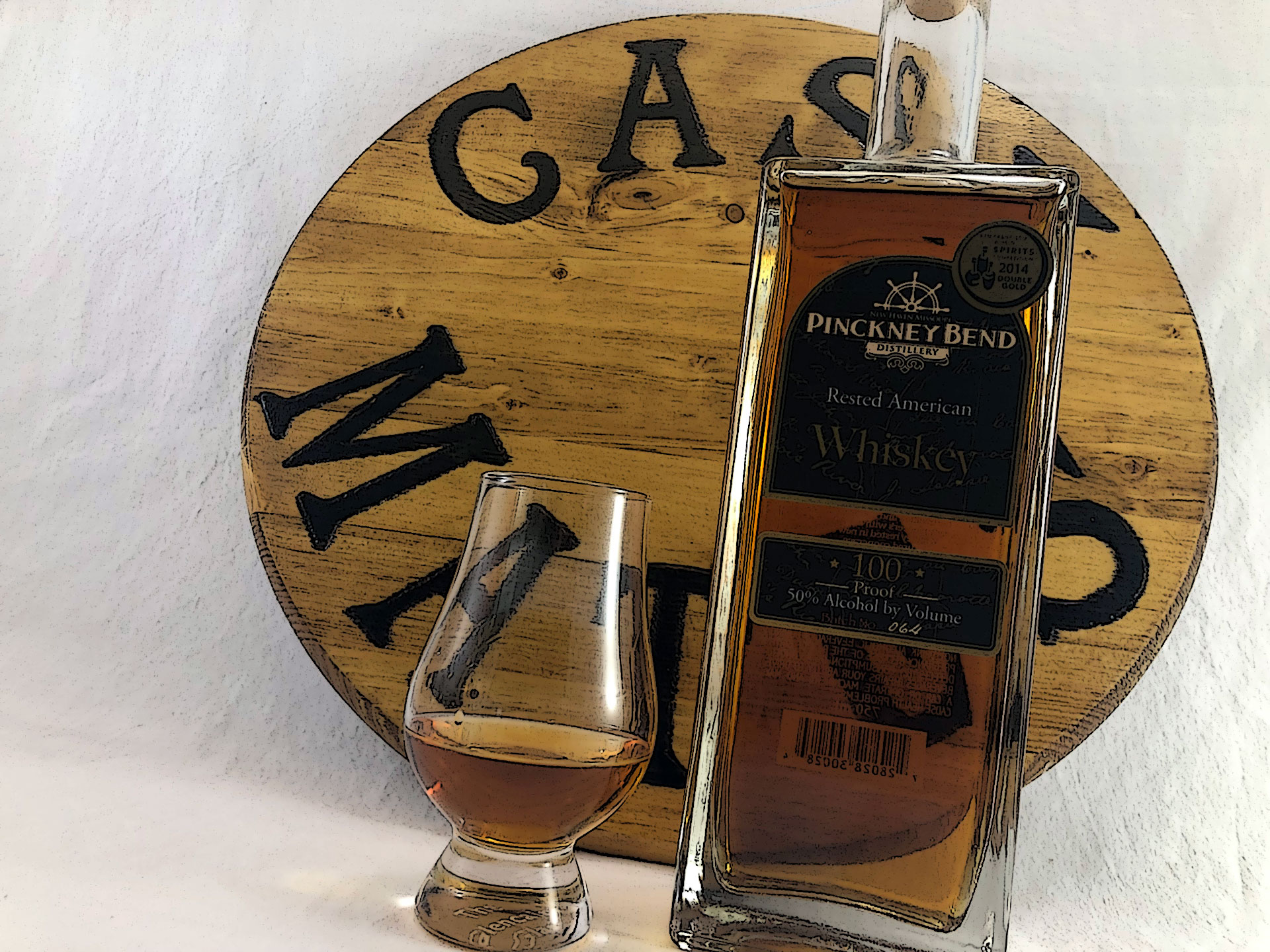 Pinckney Bend Rested American Whiskey - The Cask Mates Podcast