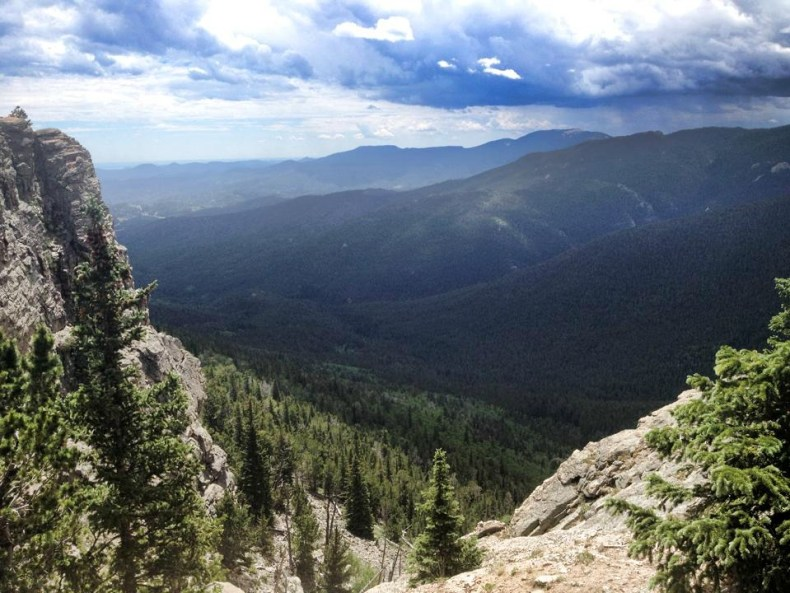 View from the Colorado Rockies