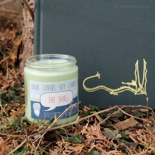 The Shire Frostbeard candle, The Hobbit, Tolkien