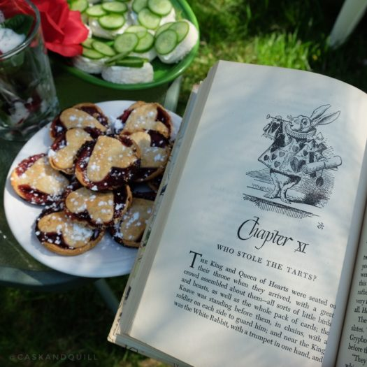 The Queen of Hearts' Raspberry Tart Recipe, Alice in Wonderland