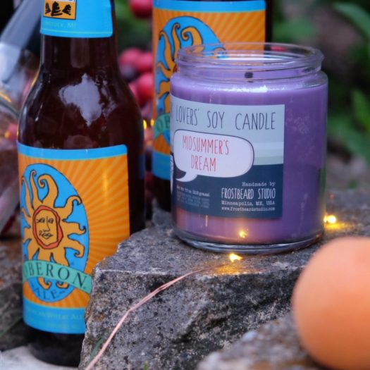 Midsummer Night's Dream Party, Frostbeard Studio Midsummer's Dream candle, Shakespeare