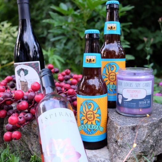 Midsummer Night's Dream Party, Bell's Oberon beer, Frostbeard Studio Midsummer's Dream candle