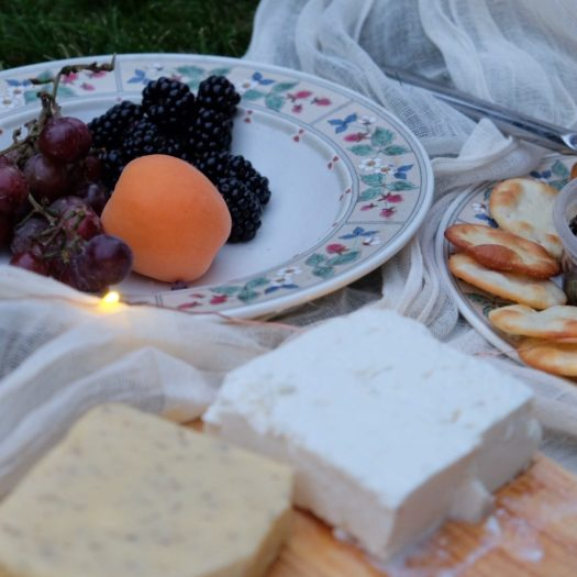 Midsummer Night's Dream Party, fruit and cheese