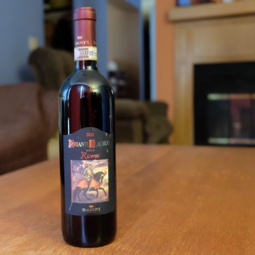 Chianti dry red