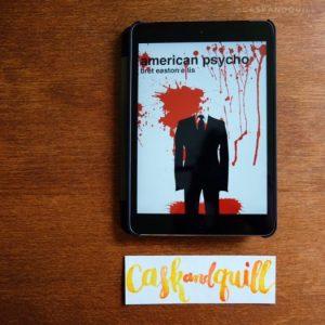 American Psycho, Bret Easton Ellis, bookmark
