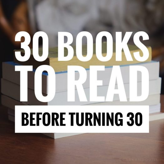 30 Books to Read Before Turning 30