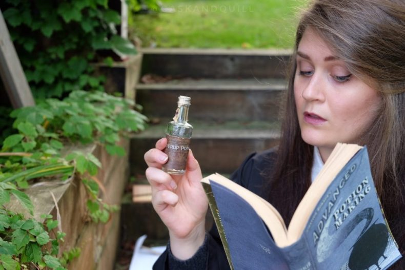 Reading Advanced Potion Making in Potions Class