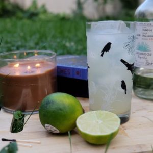Midnight Margarita recipe, inspired by Practical Magic