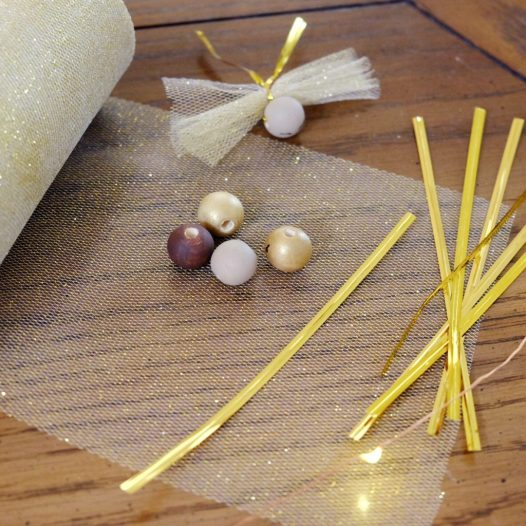 supplies for DIY fairy ornaments
