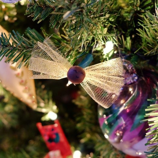 DIY Harry Potter fairy ornaments