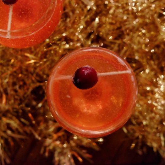 Jay Gatsby's New Years Eve champagne cocktail