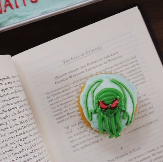 The Call of Cthulhu cupcake, Lovecraft