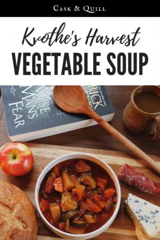 Kvothe's harvest vegetable soup recipe