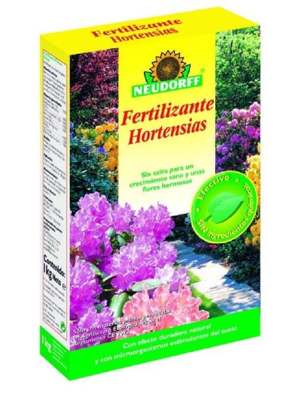 Fertilizante Hortensias (envase 1 kg)