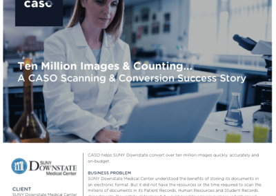SUNY Downstate Medical Center Case Study