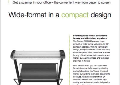 Contex SD3600 Data Sheet