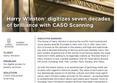 Harry Winston Case Study