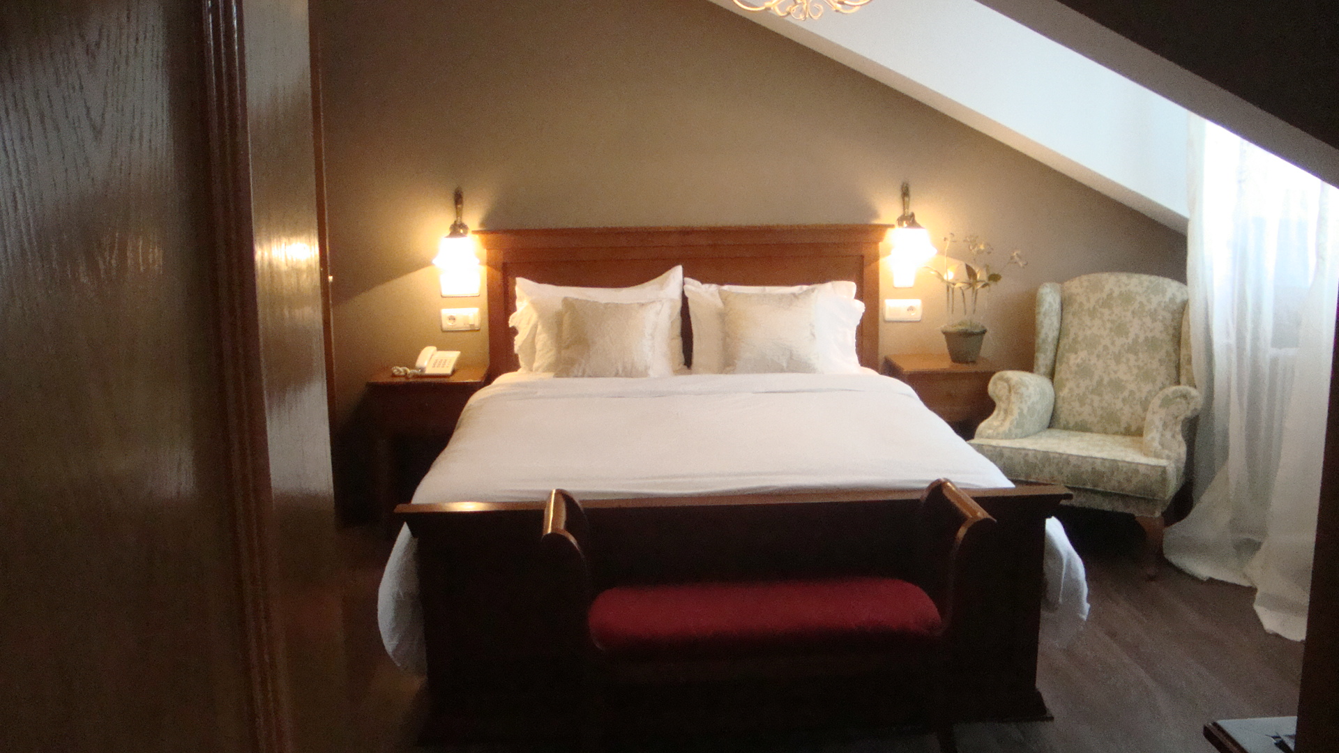 Habitaciones  Hotel Casona Naviega en Navia Asturias