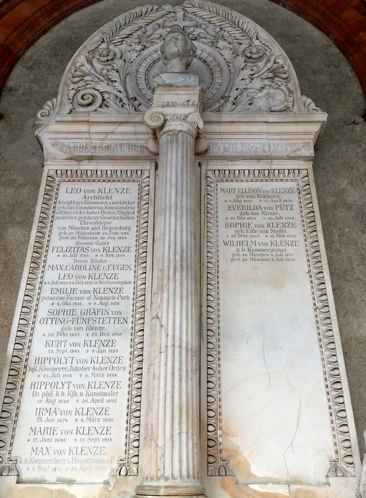 Von Klenze Grab