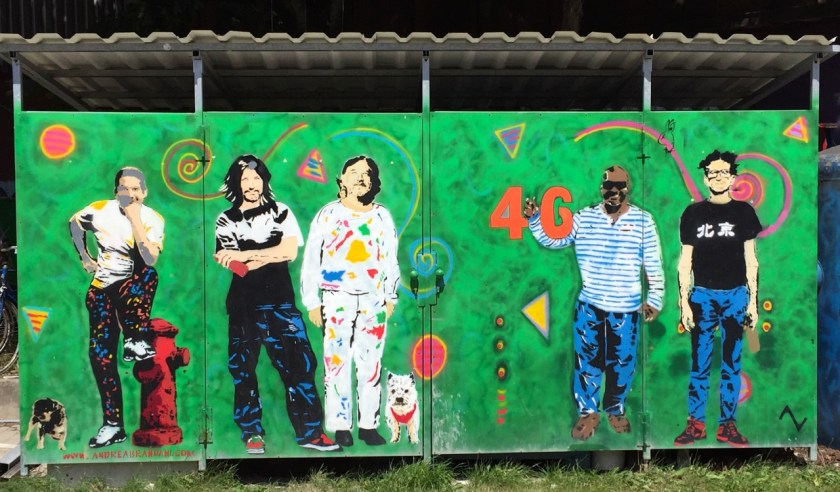... und die unverborgenen Künstler des Werksviertels. ©casowi