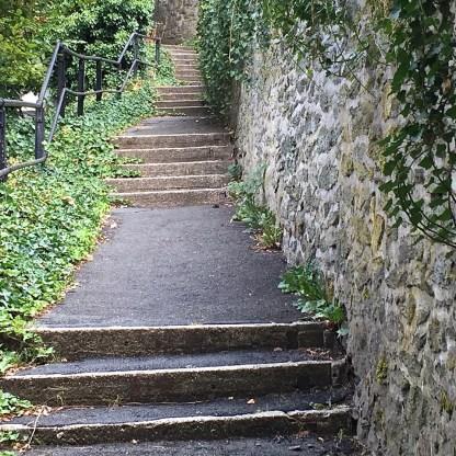 Treppen entlang des Goethewegs (© casowi)