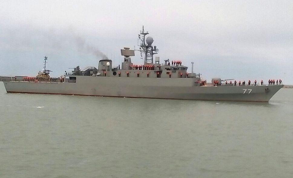 В порт Актау прибыли корабли Военно-морского флота Ирана