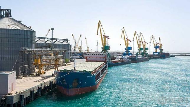 Российские порты на Каспии все еще в кризисе