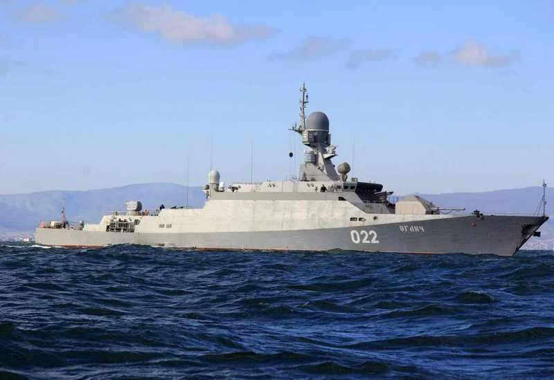 Каспийская флотилия РФ за неделю